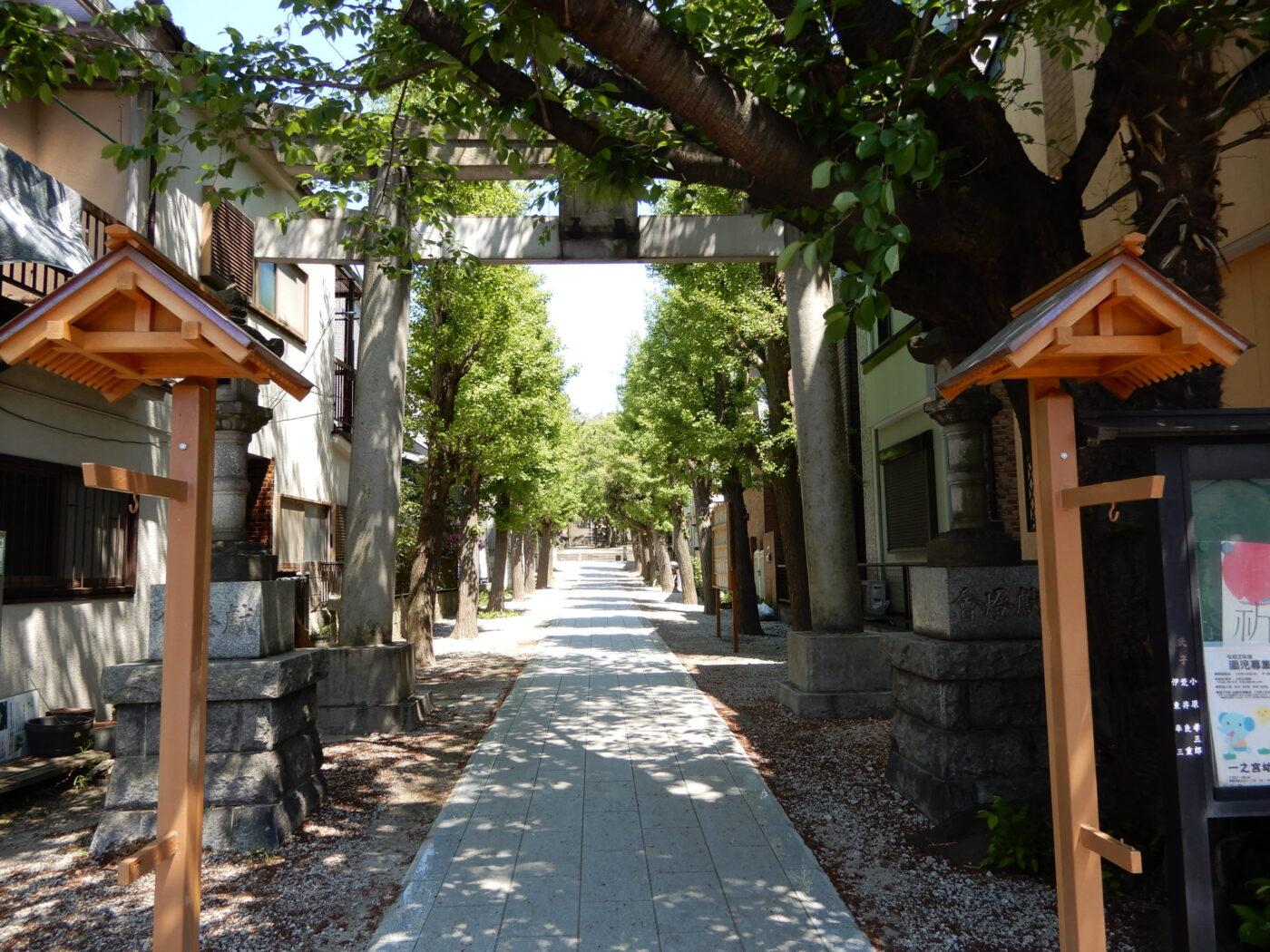 一之宮社(横浜)の写真