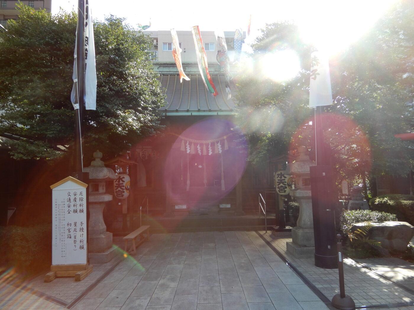 水天宮平沼神社の写真