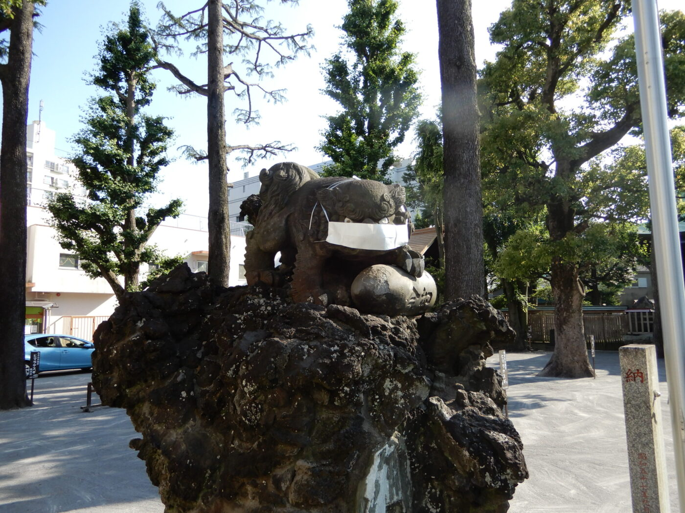 お三の宮日枝神社の写真