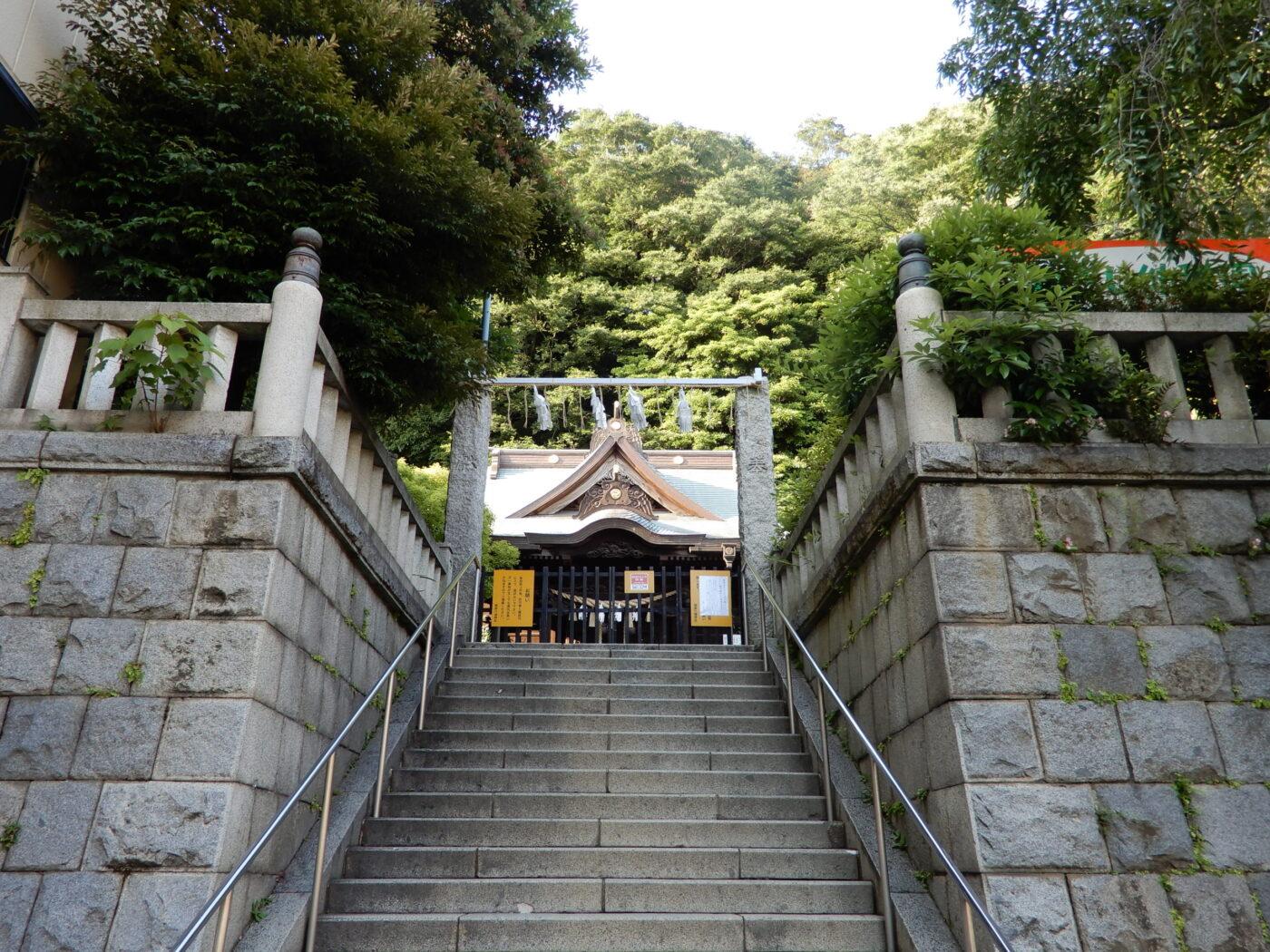 根岸八幡神社の写真
