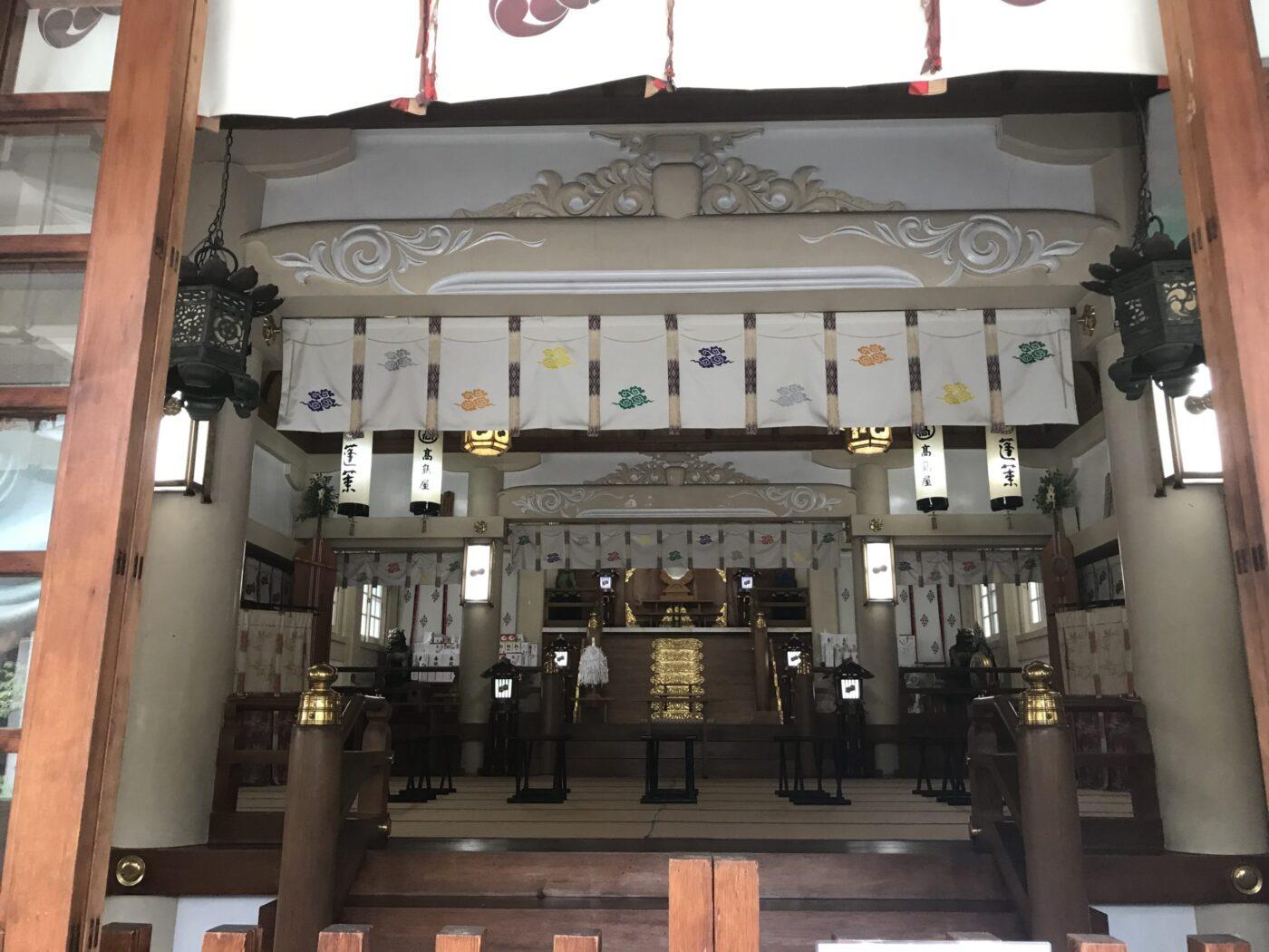 難波八阪神社の写真