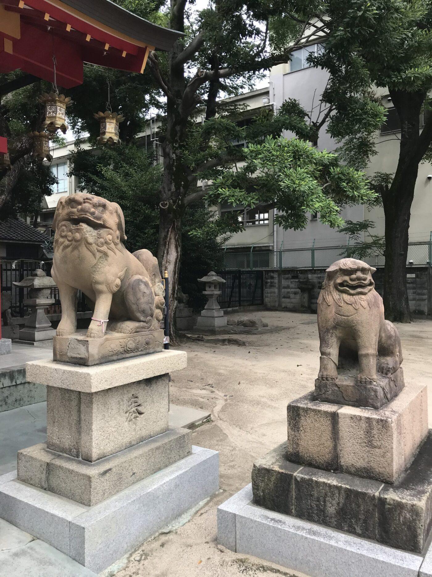 上新庄春日神社の写真