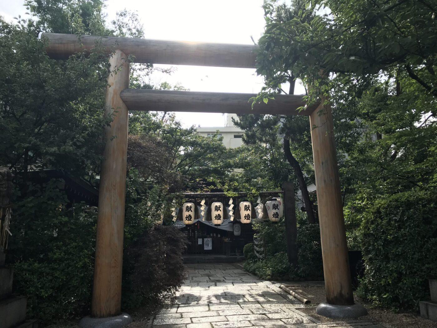 堀越神社の写真
