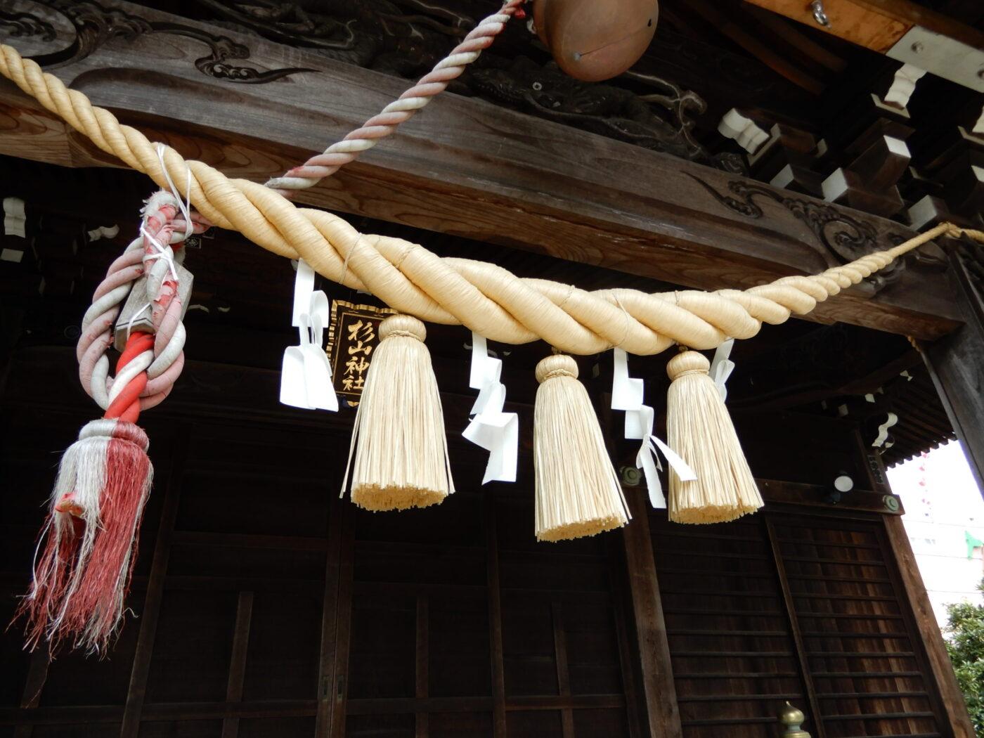 大棚・中川杉山神社の写真