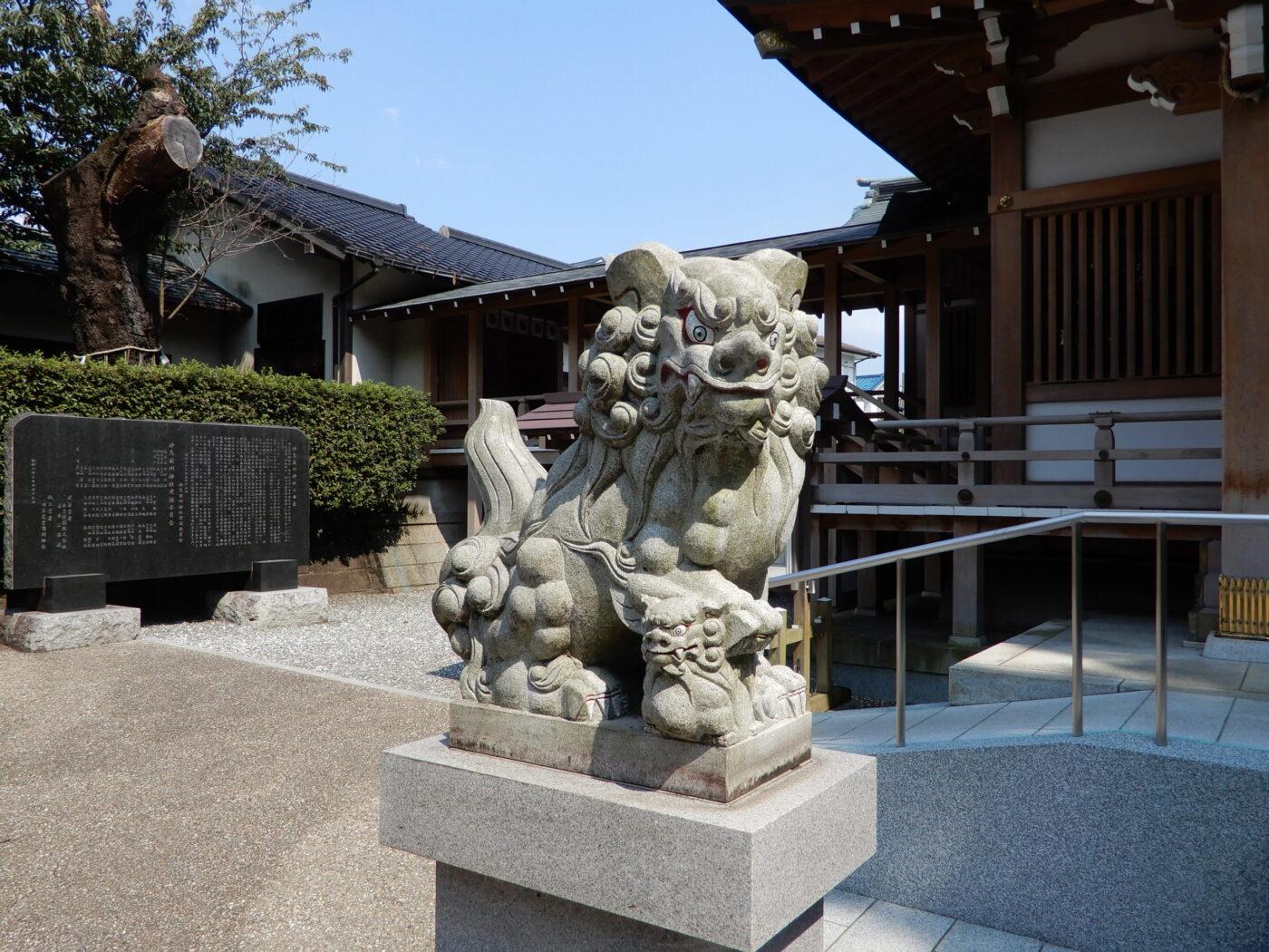 神鳥前川神社の写真
