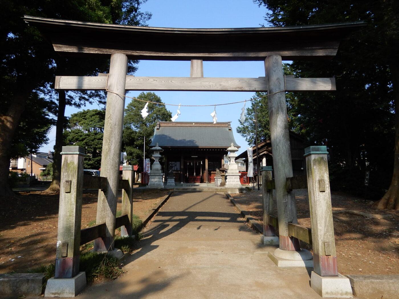 瀬谷諏訪社の写真