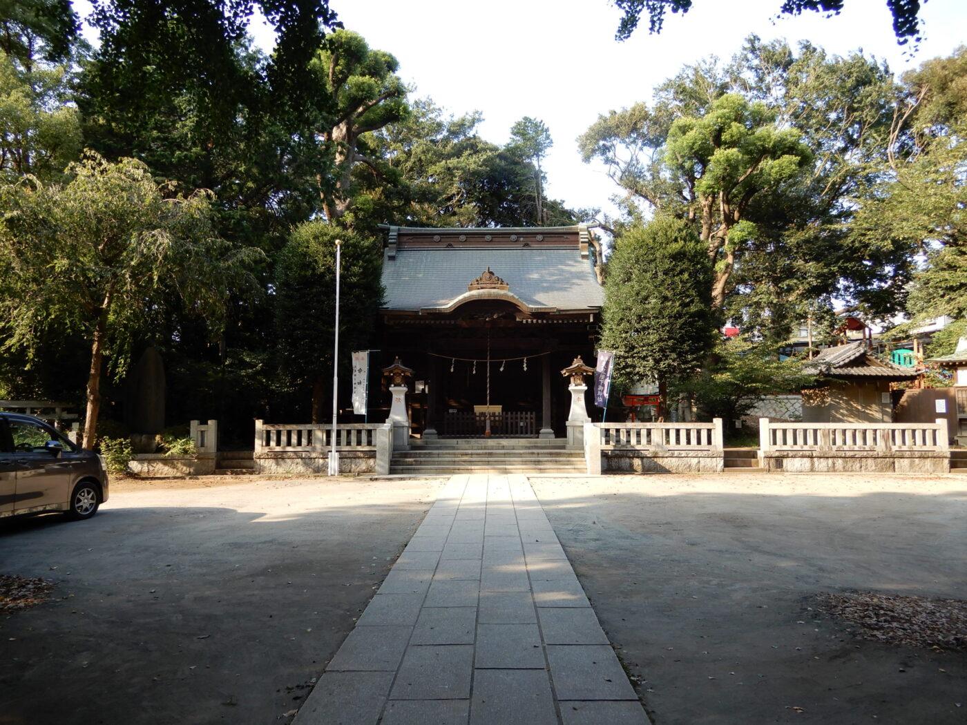御霊神社(中田)の写真