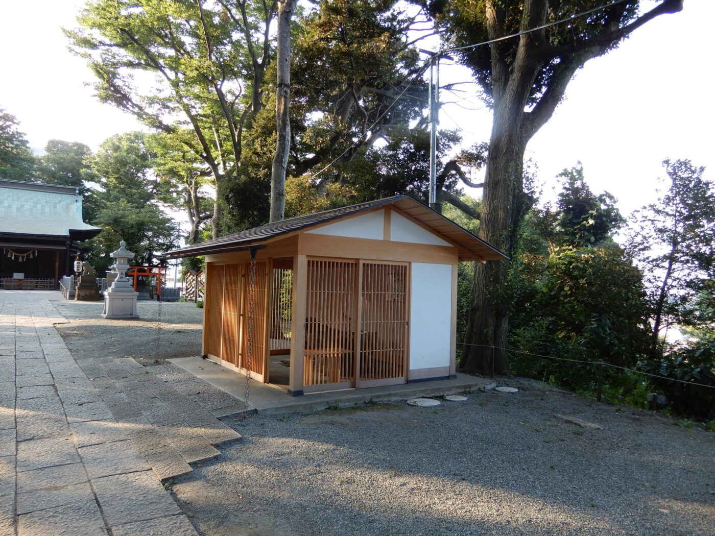 星川杉山神社の写真