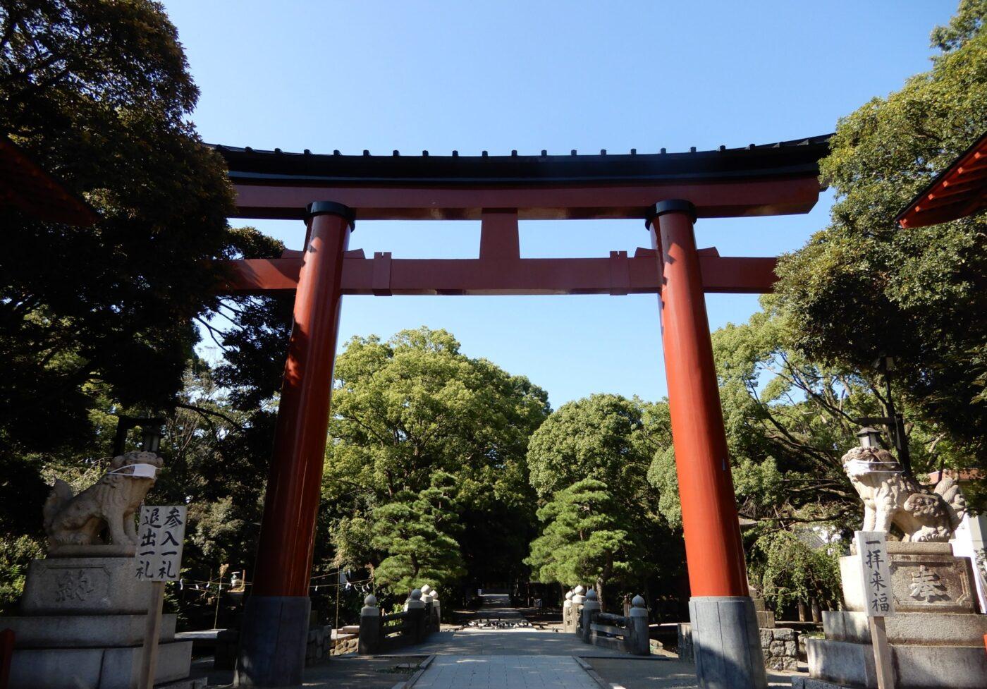 平塚八幡宮の写真