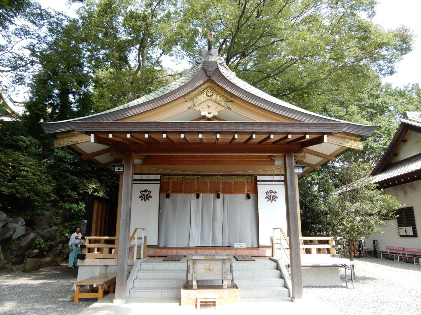 白旗神社の写真